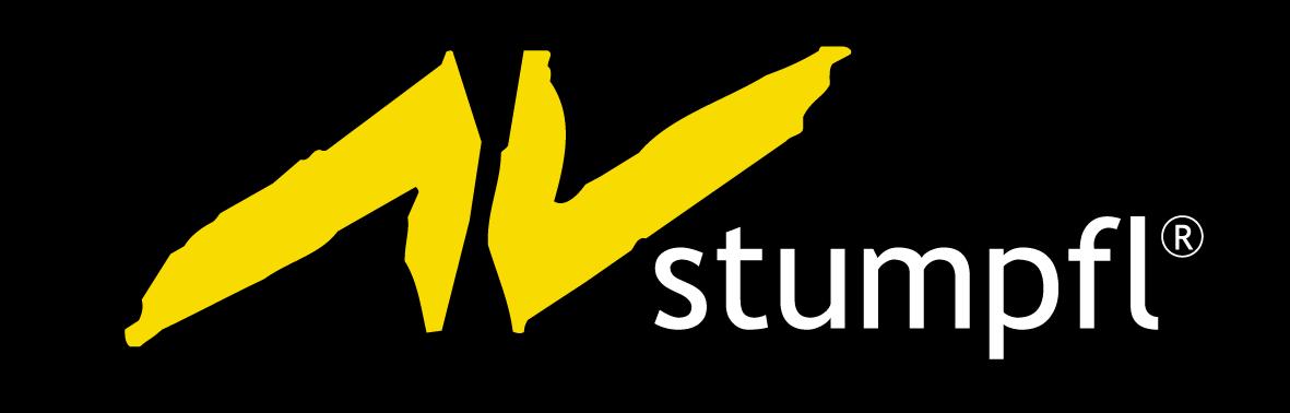 AV Stumpfl Logo auf schwarz