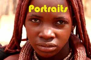 Himba-Frau - Namibia